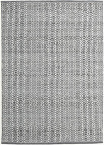 Alva - Gri Închis/White Covor 140X200 Modern Lucrate De Mână Gri Deschis/Gri Închis (Lână, India)