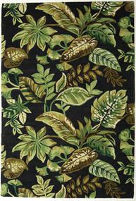 Jungel - Verde/Negru Covor 200X300 Modern Verde Închis/Verde Oliv (Lână, India)