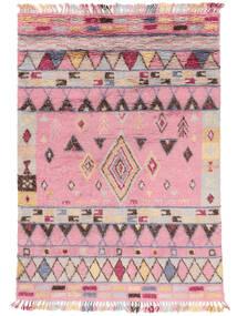 Fanny Covor 200X300 Modern Lucrat Manual Roz Deschis/Gri Deschis (Lână, India)