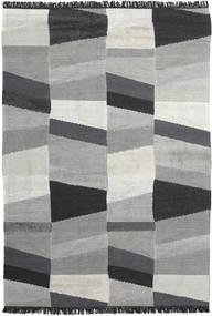 Viola - Gri/Negru Covor 200X300 Modern Lucrate De Mână Gri Deschis/Negru (Lână, India)