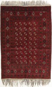 Afghan Khal Mohammadi Covor 132X182 Orientale Lucrat Manual Roșu-Închis/Gri Deschis (Lână, Afganistan)