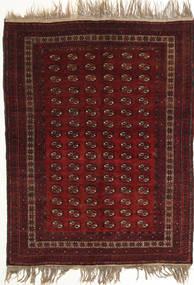 Afghan Khal Mohammadi Covor 134X180 Orientale Lucrat Manual Roșu-Închis (Lână, Afganistan)
