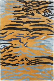 Love Tiger - Portocaliu/Gri Covor 200X300 Modern Maro Deschis/Negru ( India)