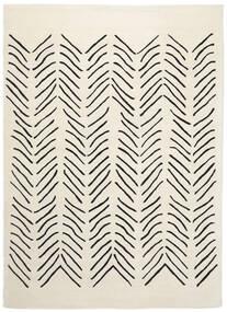 Scandic Lines - 2018 Covor 160X230 Modern Bej/Gri Închis (Lână, India)