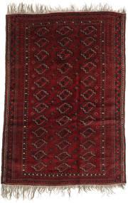 Afghan Khal Mohammadi Covor 123X177 Orientale Lucrat Manual Roșu-Închis (Lână, Afganistan)