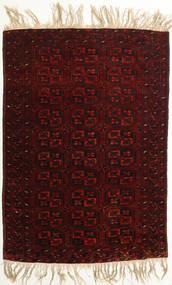 Afghan Khal Mohammadi Covor 98X144 Orientale Lucrat Manual Maro Închis/Roșu-Închis (Lână, Afganistan)