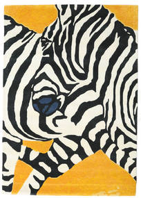 Zebra - 2018 Covor 160X230 Modern Bej/Negru (Lână, India)