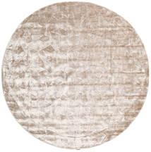 Crystal - Soft_Beige Covor Ø 250 Modern Rotund Bej-Crem/Gri Deschis Mare ( India)