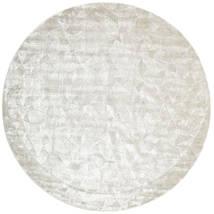 Crystal - Silver White Covor Ø 250 Modern Rotund Gri Deschis/Bej Închis/Bej Mare ( India)