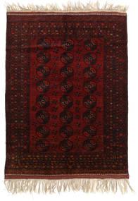Afghan Khal Mohammadi Covor 150X196 Orientale Lucrat Manual Maro Închis/Roșu-Închis (Lână, Afganistan)