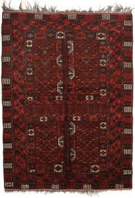 Afghan Khal Mohammadi Covor 160X213 Orientale Lucrat Manual Roșu-Închis (Lână, Afganistan)