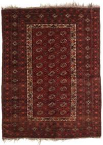 Afghan Khal Mohammadi Covor 137X181 Orientale Lucrat Manual Roșu-Închis/Maro Închis (Lână, Afganistan)