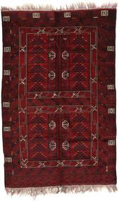 Afghan Khal Mohammadi Covor 146X220 Orientale Lucrat Manual Roșu-Închis (Lână, Afganistan)