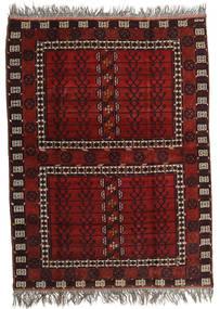 Afghan Khal Mohammadi Covor 167X221 Orientale Lucrat Manual Roșu-Închis/Gri Deschis (Lână, Afganistan)