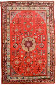 Samarkand Vintage Covor 161X250 Orientale Lucrat Manual Ruginiu/Roșu-Închis (Lână, China)