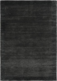 Handloom Frame - Negru/Gri Închis Covor 160X230 Modern Negru/Gri Închis (Lână, India)