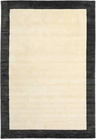Handloom Frame - Negru/White Covor 200X300 Modern Bej/Gri Închis (Lână, India)