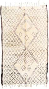 Berber Moroccan - Beni Ourain Covor 187X310 Modern Lucrat Manual Bej/Gri Deschis (Lână, Maroc)
