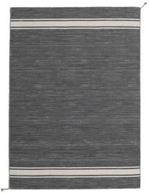 Ernst - Gri Închis/Bej Deschis Covor 140X200 Modern Lucrate De Mână Gri Închis (Lână, India)