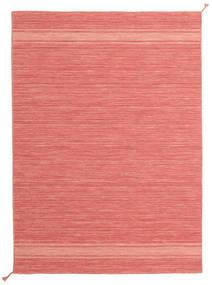 Ernst - Coral/Light_Coral Covor 140X200 Modern Lucrate De Mână Roz Deschis/Roşu (Lână, India)