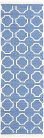 London - Albastru/Alburiu Covor 80X250 Modern Lucrate De Mână Albastru/Bej-Crem (Lână, India)