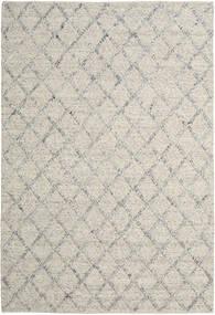 Rut - Argintiu/Gri Melange Covor 200X300 Modern Lucrate De Mână Gri Deschis/Bej Închis (Lână, India)