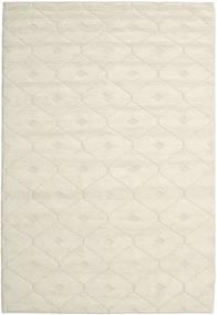 Romby - Off-White Covor 200X300 Modern Lucrate De Mână Bej/Bej Închis (Lână, India)