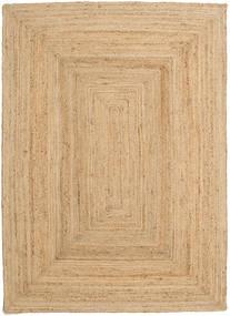 Covor Exterior Frida - Natural Covor 160X230 Modern Lucrate De Mână Bej Închis/Bej (Covor De Iută India)