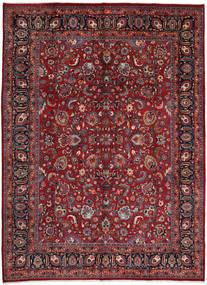 Mashhad Covor 295X402 Orientale Lucrat Manual Roșu-Închis/Roşu Mare (Lână, Persia/Iran)