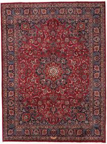 Mashhad Covor 294X396 Orientale Lucrat Manual Roșu-Închis/Gri Închis Mare (Lână, Persia/Iran)