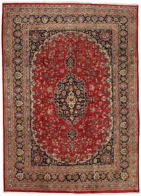 Mashhad Covor 237X333 Orientale Lucrat Manual Roșu-Închis/Maro Închis (Lână, Persia/Iran)