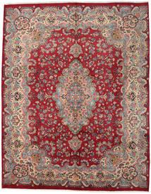 Mashhad Covor 294X374 Orientale Lucrat Manual Roșu-Închis/Roşu Mare (Lână, Persia/Iran)