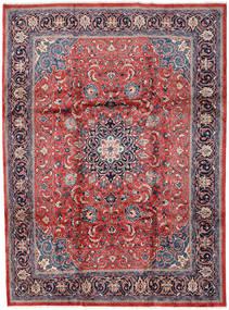 Mahal Covor 246X330 Orientale Lucrat Manual Gri Deschis/Roșu-Închis (Lână, Persia/Iran)