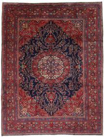 Mashhad Covor 292X381 Orientale Lucrat Manual Roșu-Închis/Negru Mare (Lână, Persia/Iran)