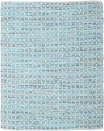 Elna - Bright_Blue Covor 250X300 Modern Lucrate De Mână Albastru Deschis/Gri Deschis Mare (Bumbac, India)