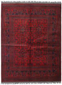 Afghan Khal Mohammadi Covor 152X198 Orientale Lucrat Manual Roșu-Închis (Lână, Afganistan)