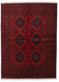 Afghan Khal Mohammadi Covor 173X236 Orientale Lucrat Manual Roșu-Închis/Maro Închis (Lână, Afganistan)