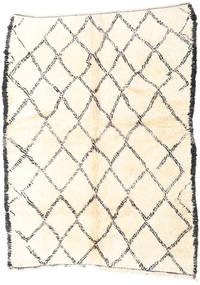 Berber Moroccan - Beni Ourain Covor 184X246 Modern Lucrat Manual Bej (Lână, Maroc)