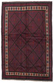 Beluch Covor 150X235 Orientale Lucrat Manual Roșu-Închis/Negru (Lână, Afganistan)