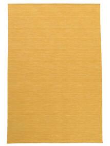 Chilim Loom - Yellow Covor 160X230 Modern Lucrate De Mână Maro Deschis/Galben (Lână, India)