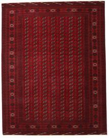 Turkaman Patina Covor 305X390 Orientale Lucrat Manual Roșu-Închis/Maro Închis Mare (Lână, Persia/Iran)