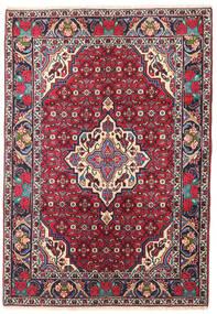 Bidjar Covor 101X144 Orientale Lucrat Manual Mov Închis/Roșu-Închis (Lână, Persia/Iran)