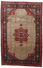 Songhor Covor 206X322 Orientale Lucrat Manual Maro Deschis/Negru (Lână, Persia/Iran)