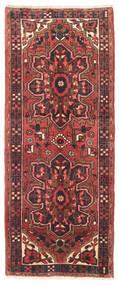 Heriz Covor 80X195 Orientale Lucrat Manual Roșu-Închis/Albastru Închis (Lână, Persia/Iran)
