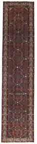 Hamadan Patina Covor 78X340 Orientale Lucrat Manual Maro Închis/Roșu-Închis (Lână, Persia/Iran)