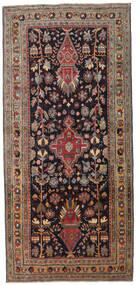 Ardabil Patina Covor 133X284 Orientale Lucrat Manual Maro Închis/Roșu-Închis (Lână, Persia/Iran)