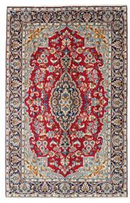 Kerman Covor 149X234 Orientale Lucrat Manual Roșu-Închis/Mov Închis (Lână, Persia/Iran)