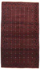 Beluch Covor 110X190 Orientale Lucrat Manual Roșu-Închis/Maro Închis (Lână, Persia/Iran)