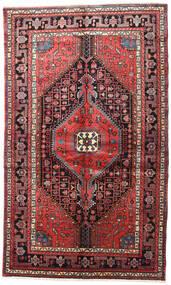 Nahavand Covor 150X245 Orientale Lucrat Manual Maro Închis/Roșu-Închis (Lână, Persia/Iran)