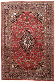 Mashhad Covor 200X295 Orientale Lucrat Manual Roșu-Închis/Ruginiu (Lână, Persia/Iran)
